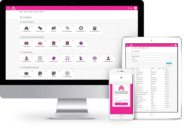 Aplicações Desktop, Tablet, Mobile